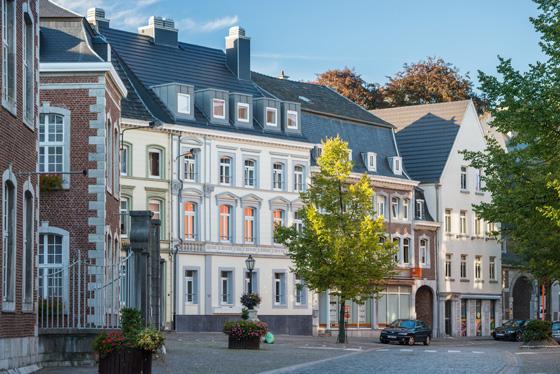 Eupen Kloetzerbahn Stadtansicht