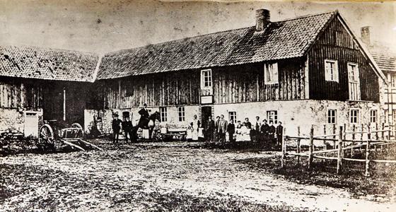 Alte Aufnahme gaststätte Crott Reinartzhof