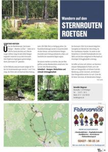 Artikel über Sternrouten in EifelPur 06/2021